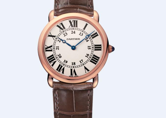 卡地亚售后服务中心维修好的手表展示
