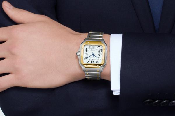 卡地亚腕表戴在身上彰显气质