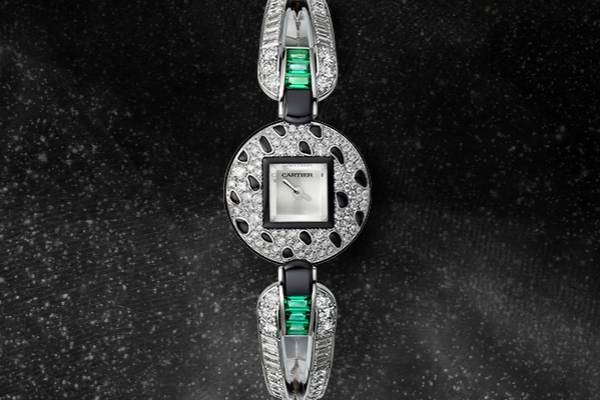 卡地亚超凡作品—高级珠宝腕表